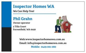 Contact Inspector Homes